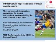 Sport events - Forschungsinstitut für Freizeit und Tourismus