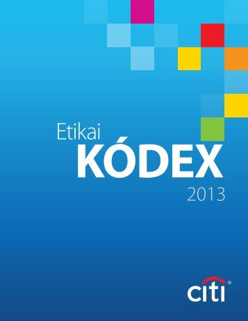 Etikai kódex - Citigroup