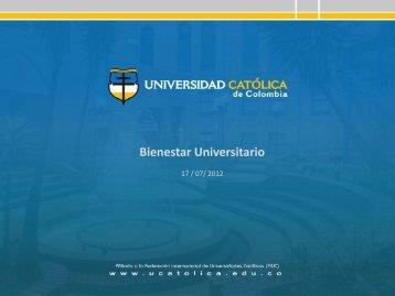 I Pleno Interno de Bienestar Universitario