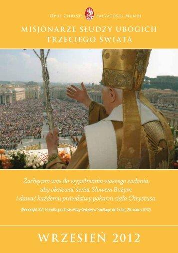 Wrzesien_2012 - Misioneros Siervos de los Pobres del Tercer Mundo