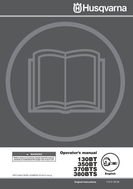 OM, 130 BT, 350 BT, 370 BTS, 380 BTS, 2010-01 - Gibsons Garden ...