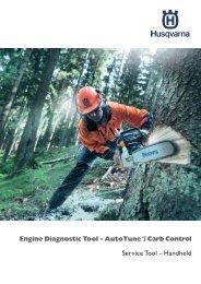 Engine Diagnostic Tool - AutoTune™/ Carb ... - Husqvarna Group