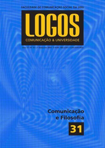 Comunicação e Filosofia - Logos - UERJ