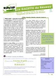 Gazette n°22 - Ireps Aquitaine