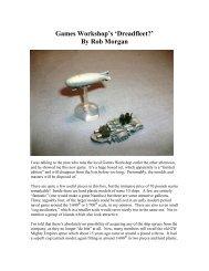 Games Workshop's 'Dreadfleet?' By Rob Morgan - Lone Warrior Blog
