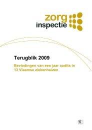 Terugblik 2009 - Bevindingen van een jaar audits in 13 Vlaamse ...