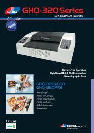 Hot & Cold Pouch Laminator