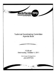 ~ ~~ larida - North Florida Transportation Planning Organization