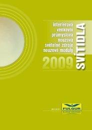 Katalog FULGUR 2009