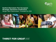 Bernstein 20092011 Final WEB.pdf - Carlsberg Group