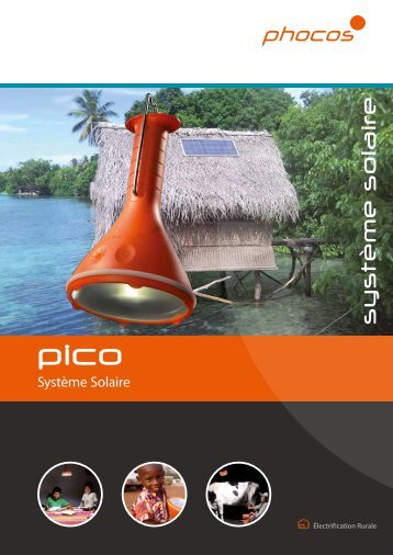 Lampe Pico - Phocos.com