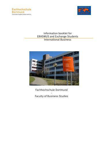 One semester exchange - Fachhochschule Dortmund