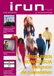 HIRITARREN KONGRESUA Congreso de ciudadanos