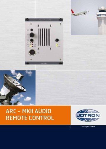 ARC - MKII AUDIO REMOTE CONTROL