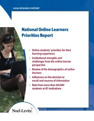 Online Learners - Enrollment Management Consulting