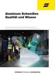 Aluminum Schweißen Qualität und Wissen - Esab