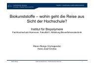 hersteller Biopolymer - Dr. Reinold Hagen Stiftung