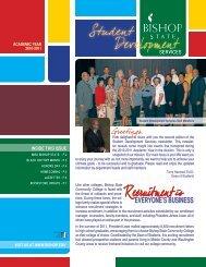 2011 Student Development Services Newsletter (PDF)