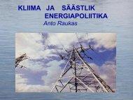 Kliima ja energeetika