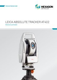 leica absolute tracker at402 - AICON 3D Systems