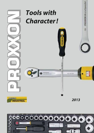 Tools with Character !