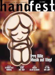 Irre Rille Musik auf Vinyl Irre Rille Musik auf Vinyl - Handfest-Online