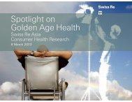 Spotlight on Consumer Health - Actuarial Society of Hong Kong