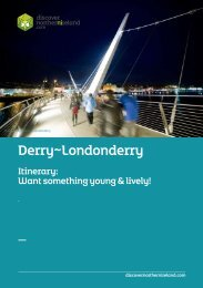 Derry~Londonderry - Discover Northern Ireland