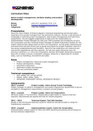 CV – English PDF - Consenso