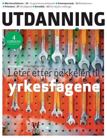 Utdanning nr. 4/2012 - Utdanningsnytt