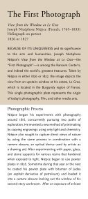 The First Photograph - Harry Ransom Center - The University of ... - Page 2