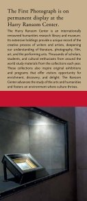 The First Photograph - Harry Ransom Center - The University of ... - Page 5