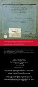 The First Photograph - Harry Ransom Center - The University of ... - Page 6