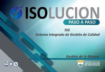 ISOlución paso a paso