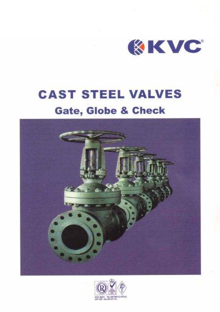 cast steel gate valves – ansi 300