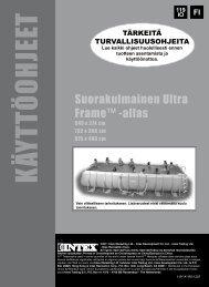 säilytä nämä ohjeet - Intex Nordic