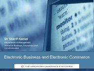 Electronic Business and Electronic Commerce