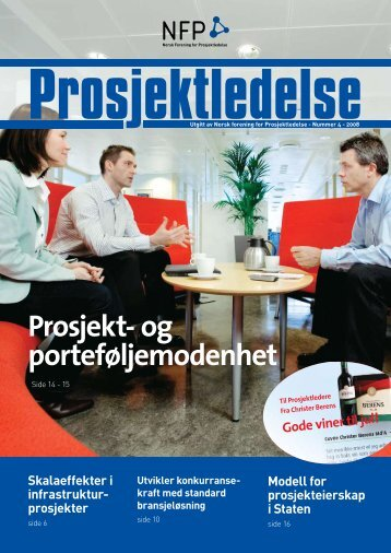 Prosjekt - Norsk senter for prosjektledelse - NTNU