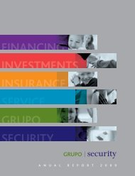 FINANCING INVESTMENTS INSURANCE ... - Banco Security