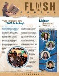 Liaison - Collège Boréal