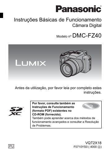 Instruções Básicas de Funcionamento - Panasonic