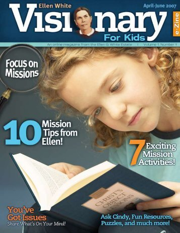 Ellen White Visionary for Kids |