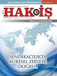 hak-iş dergi 1. sayı - Hak-İş Konfederasyonu