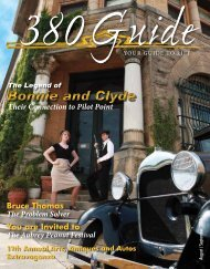 August/September 2010 - 380Guide Magazine
