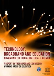 Technology Broadband and Education - SchoolNet South Africa