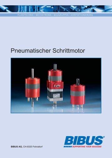 BIBUS Baumgartner Pneumatischer Schrittmotor