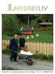 tidsskrift for jordbruk og ernæring natur og kultur - Camphill Norge