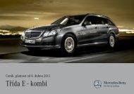 Třída E - kombi - Mercedes-Benz PRAHA
