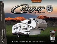 Cougar Brochure - Pete's RV Center