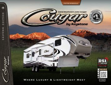 Cougar Brochure - Pete's RV Center